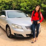 Female taxi driver Pattaya