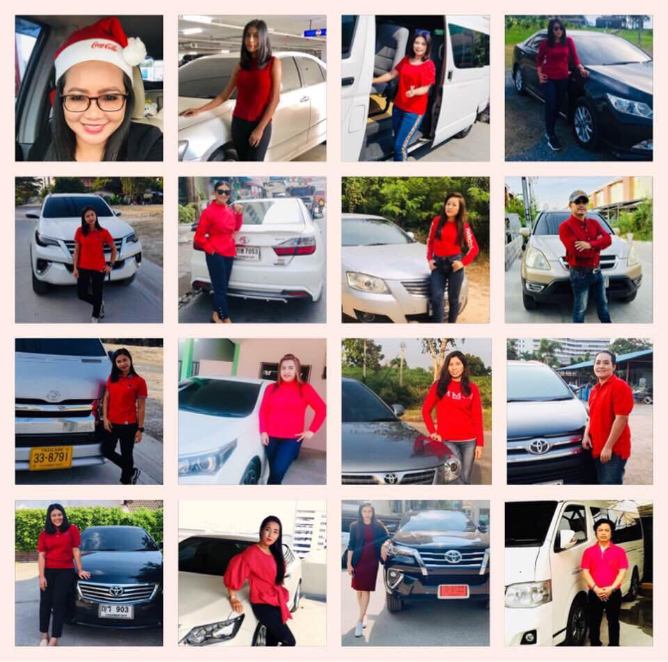female taxi drivers Pattaya